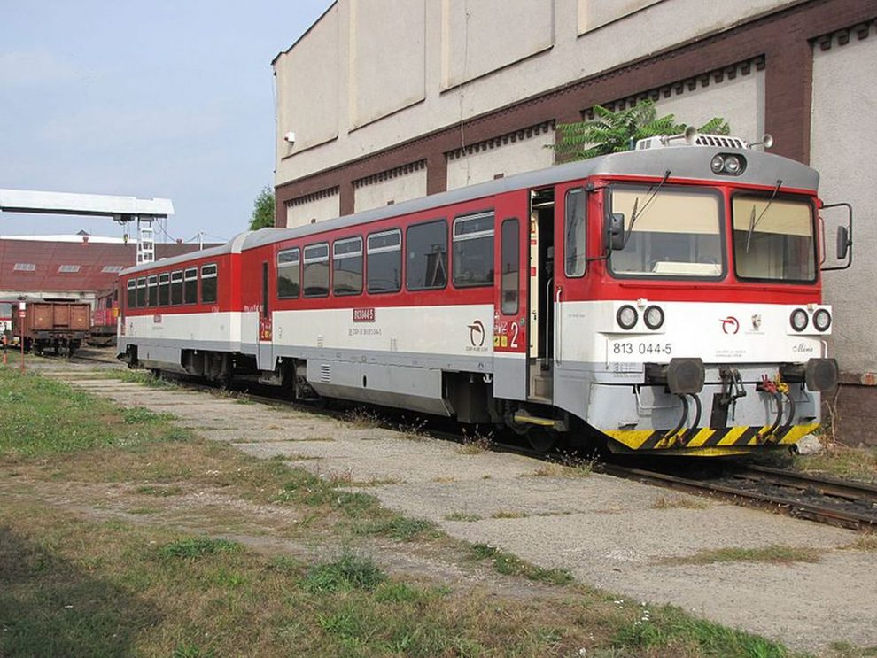 Motorová jednotka 813+913 společnosti ZSSK. Foto: Szalay3/Wikimedia Commons