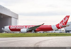 A330neo pro Air Asia. Foto: Airbus