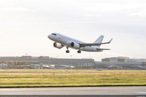 ACJ319neo startuje v Toulouse. Foto: Airbus