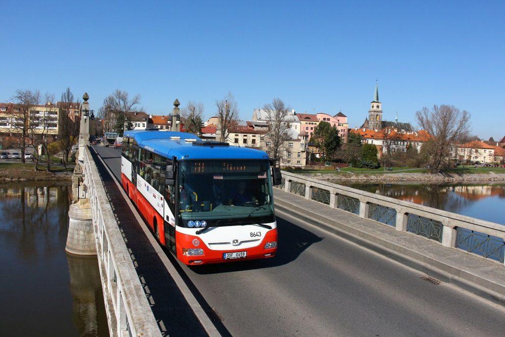 Autobus OAD Kolín v Nymburku. Autor: OAD Kolín