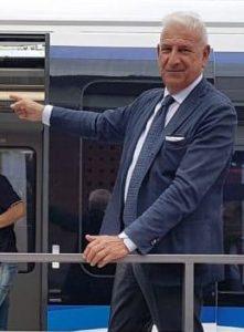 Výkonný ředitel firmy Salini Impregilo Francesco Pietro Miglio. Pramen: Salini Impregilo