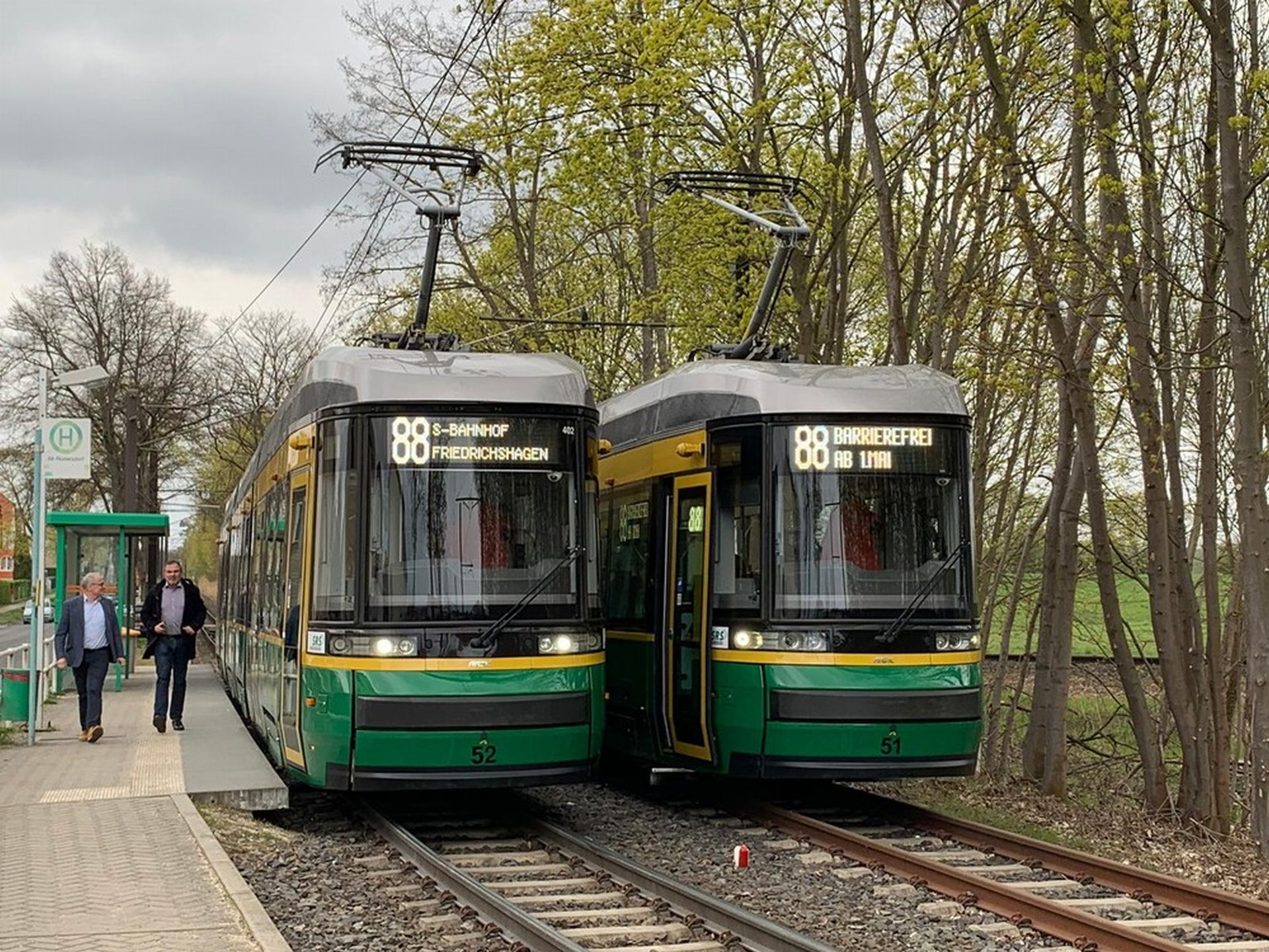 Tramvaj ForCity Smart Artic X34 v německém městě Schöneiche. Foto: Škoda Transtech