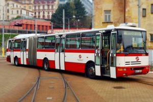 Karosa B941 ve vozově libereckého dopravního podniku. Foto: DPMLJ