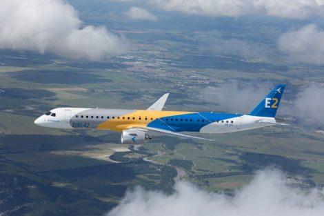 Embraer E195-E2. Foto: Embraer