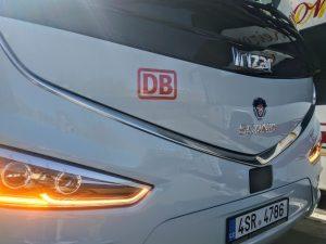 Nový autobus Scania Irizar i8 v barvách DB IC BUS. Foto: Jan Sůra