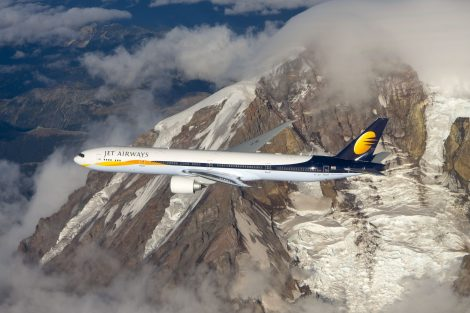 Jet Airways a jejich Boeing 777-300ER. Foto: Jet Airways