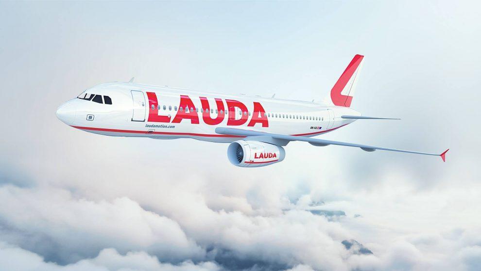 Laudamotion a jeho A320. Foto: Laudamotion