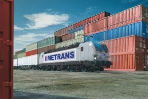 Vizualizace lokomotivy Siemens Vectron v barvách Metransu. Foto: Siemens