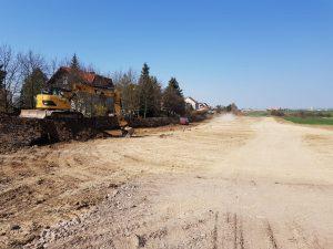 Stavba obchvatu Opočna. Pramen: Královéhradecký kraj