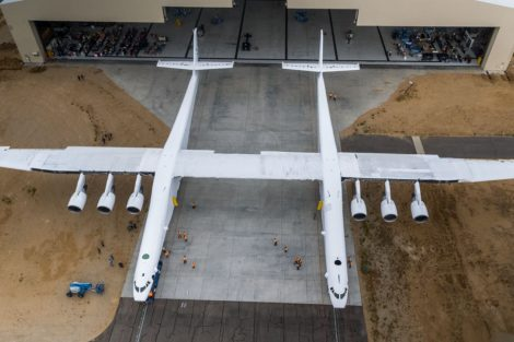 Stratolaunch. Foto: Stratolaunch