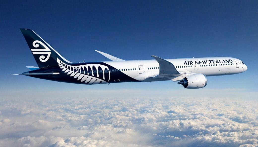 Boeing 787-10 v barvách Air New Zealand. Foto: ANZ