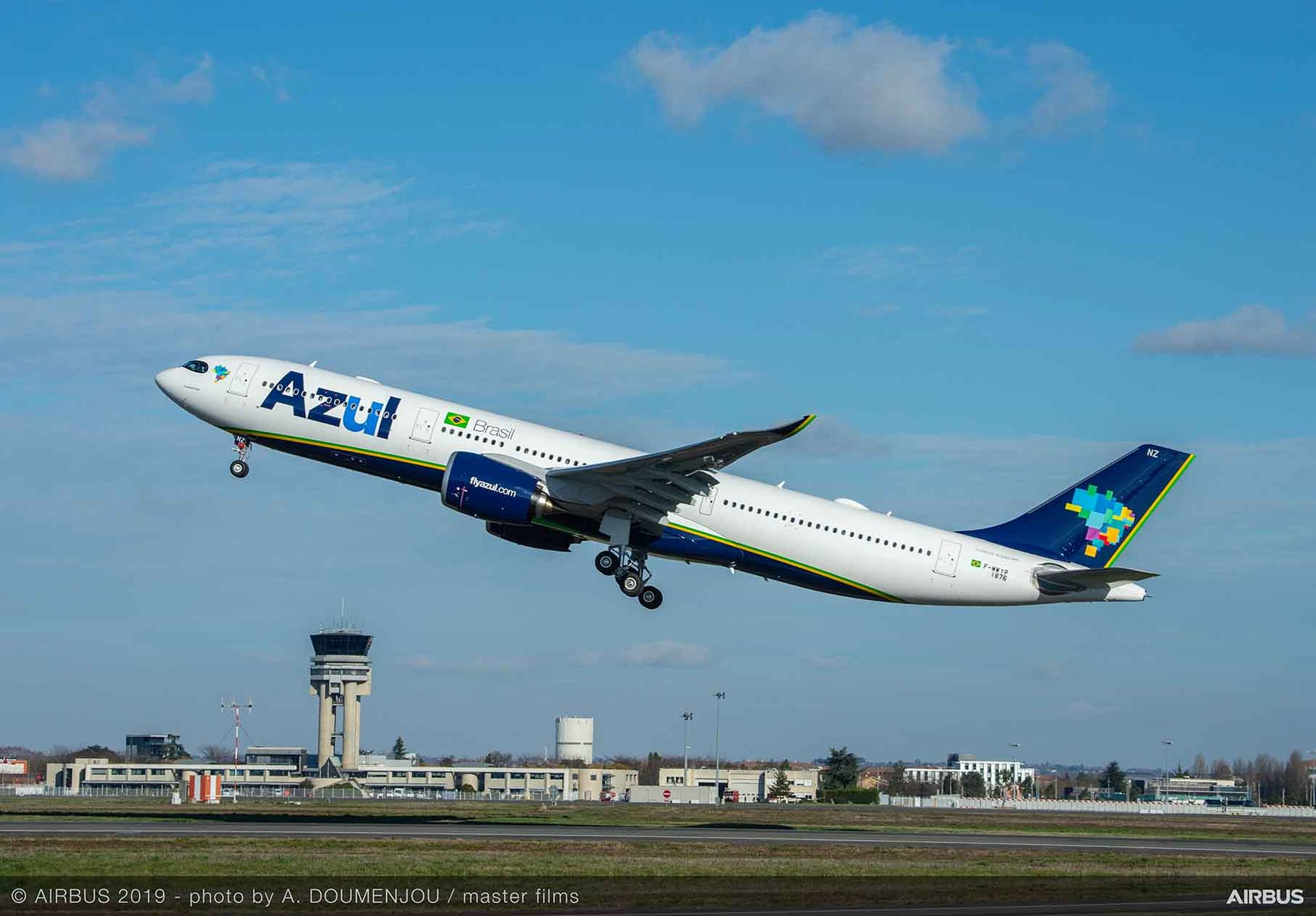A330-900 společnosti Azul Linhas Aéreas Foto: Airbus