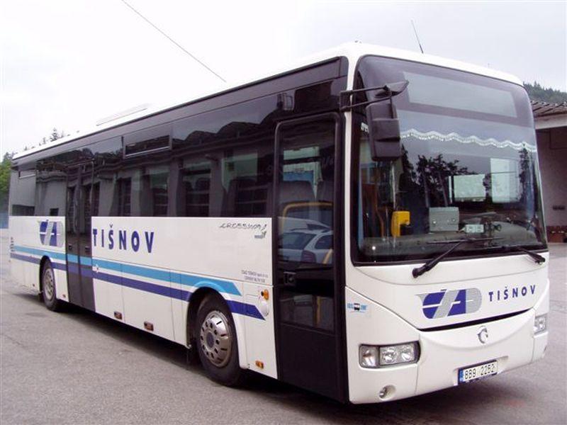 Autobus ČSAD Tišnov, ilustrační foto. Pramen: ČSAD Tišnov