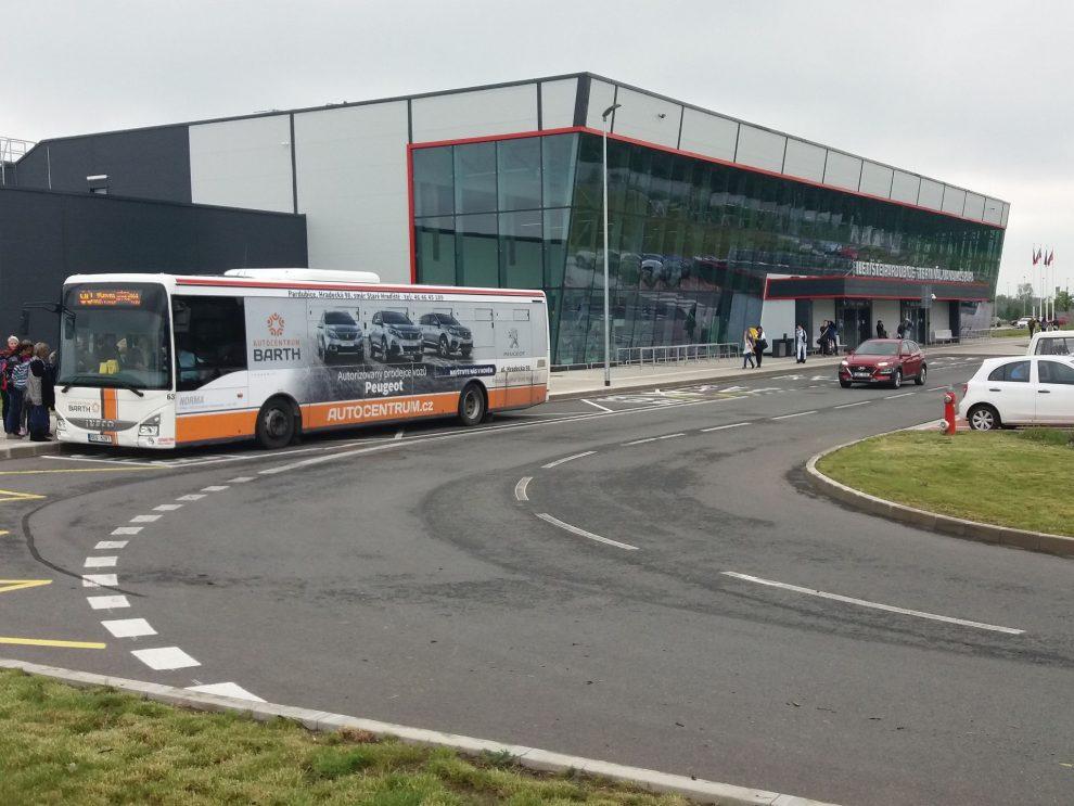 Nový Terminál Jana Kašpara Letiště Pardubice. Autor: Zdopravy.cz/Jan Šindelář