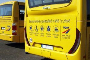 Autobusy TQM. Pramen: TQM