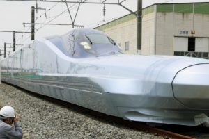 Nový rychlovlak Alfa-X. Foto: JR East