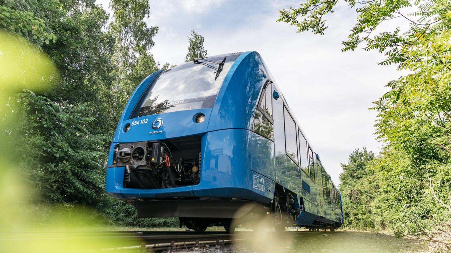Jednotka Coradia iLint s vodíkovým pohonem. Foto: Alstom