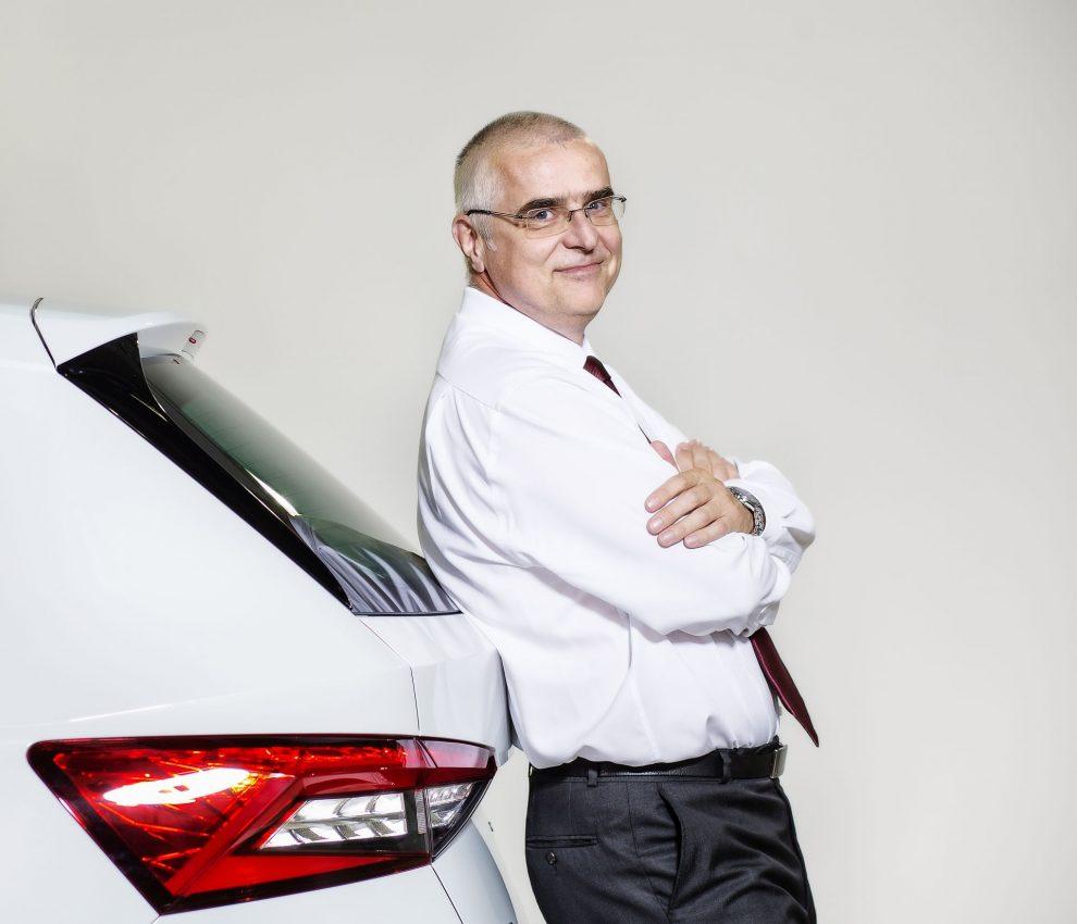 Jiří Černý, vedoucí výroby vozů v Kvasinách. Foto: Škoda Auto