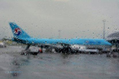 Boeing 747-8i Korean Air v Praze. Foto: Michal Holeček