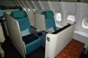 Na horní palubě 747-8i Korean Air. Foto: Michal Holeček
