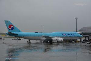S délkou 76,3 metrů je 747-8i nejdelším osobním letadlem, které letos létá do Prahy. Foto: Michal Holeček
