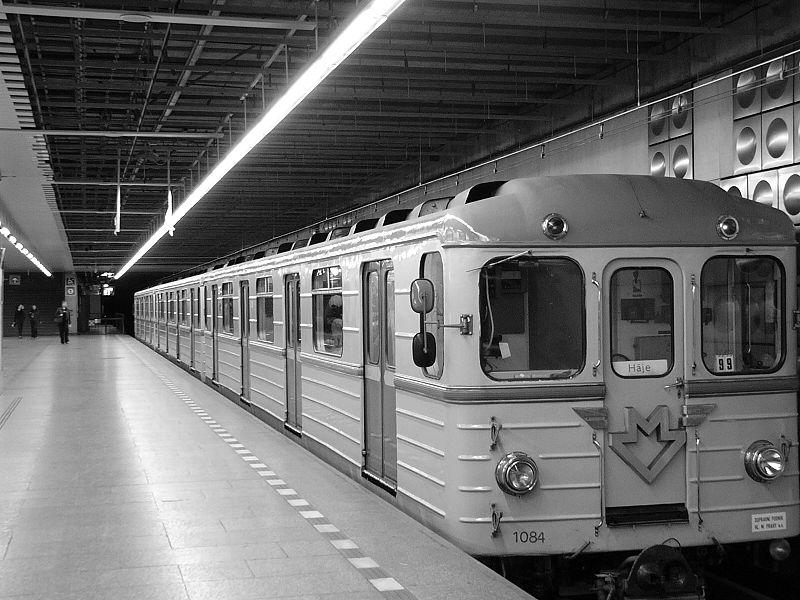 Souprava metra Ečs. Autor: Jklamo – Vlastní dílo, CC BY-SA 2.5, https://commons.wikimedia.org/w/index.php?curid=340711