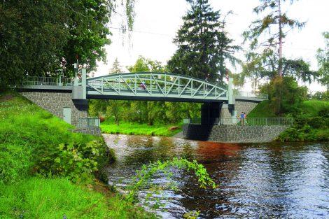 Nový most na silnici III. třídy, Lužec nad Vltavou, vizualizace. Pramen: ŘVC