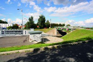 Původní most na místní komunikaci Vraňany. Autor: ŘVC