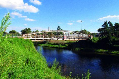 Most bývalé polní dráhy, Ústřední čistírna odpadních vod. Pramen: ŘVC