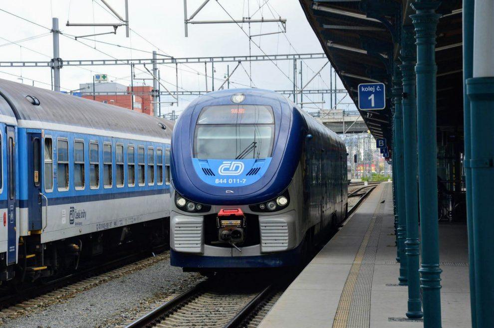RegioShark na plzeňském hlavním nádraží. Foto: Jan Sůra