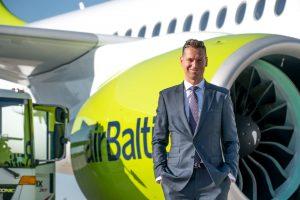 Provozní ředitel airBaltic Martin Sedlacký. Foto: airBaltic