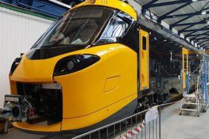 Alstom Coradia Stream ve výrobním závodě v Chorzově. Foto: NS