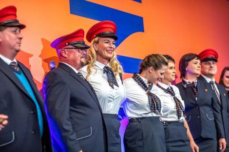 Nové uniformy SŽDC. Pramen: SŽDC
