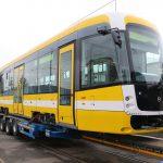 Nová tramvaj EVO 2 pro provoz v Plzni. Foto: Plzeňské městské dopravní podniky