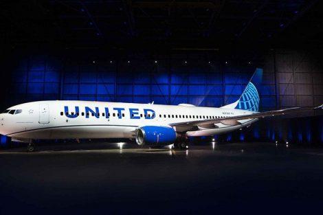 Nové zbarvení United Airlines. Foto: United
