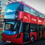 Nový dvoupodlažní autobus na vodík od společnost Wrightbus. Foto: Wrightbus