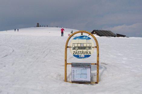 Zastávka Vítkovice, Zlaté návrší. Foto: IDOL