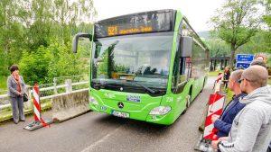 Autobus Mercedes Citaro společnosti ČSAD Slaný na lince z Litvínova do Olbernhau. Foto: Olbernhau.de