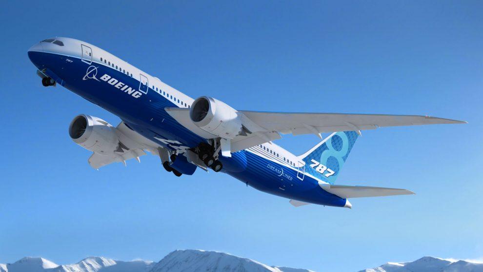 Boeing 787-8. Foto: Boeing