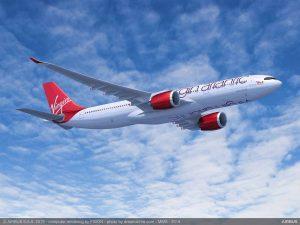 A330-900 v barvách Virgin Atlantic. Foto: Airbus