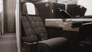 Byznys třída v A350-1000 British Airways. Foto: British Airways
