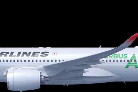 Různé barevné verze A350 pro Japan Airlines. Foto: JAL