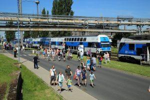 Den otevřených dveří v Plzeňské Škodě v roce 2014. Pramen: Škoda Transportation
