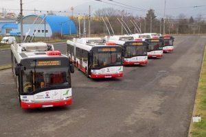 Trolejbusy MHD Ústí nad Labem. Pramen: DPMÚL