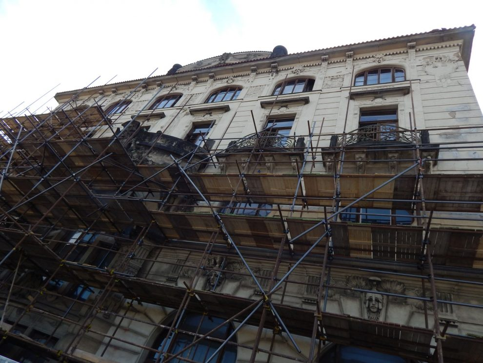 Rekonstrukce Fantovy budovy. Autor: Zdopravy.cz/Jan Šindelář