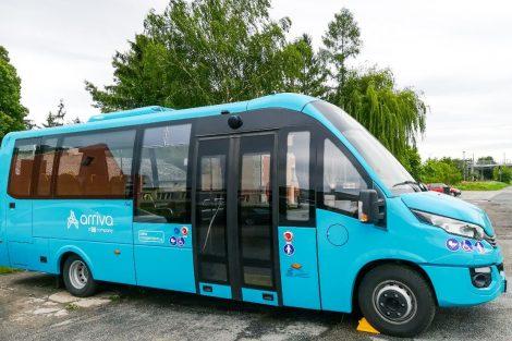 Kutnohorský elektrobus od slovenského výrobce výrobce ROŠERO-P. Pramen: Arriva