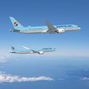 Dreamlinery Korean Air. Foto: Boeing