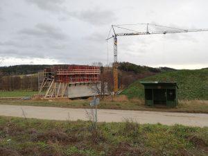Stavba 4. koridoru Sudoměřice - Votice. Autor: Petr Špetlák