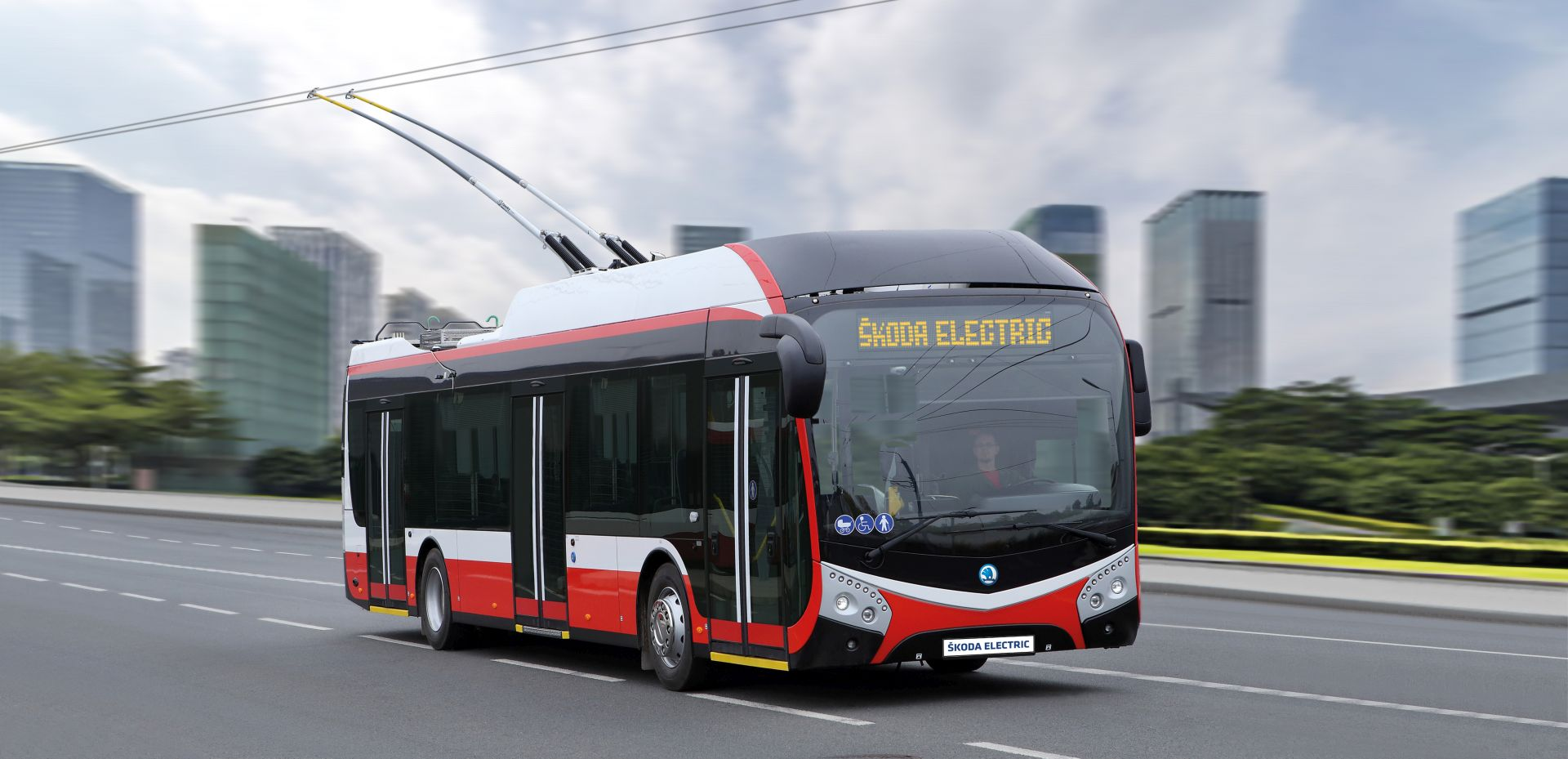 Trolejbus Škoda 32Tr. Foto: Škoda Electric