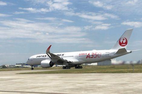 Airbus A350-900 v barvách JAL v Toulouse. Foto: JAL